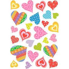 Декоративная наклейка Сердечки