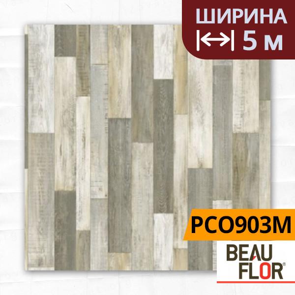Линолеум ПВХ Beauflor Pietro Cuban Oak 903M, Ширина - 5 м; 2.25/0,25 - бытовой