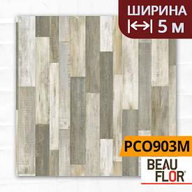 Лінолеум ПВХ Beauflor Pietro Cuban Oak 903M, Ширина - 5 м; 2.25/0,25 - побутової