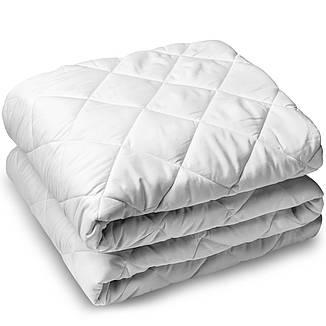 Одеяло шерстяное полуторное бязь куб. 150*210 хлопок (2893) TM KRISPOL Украина, фото 2