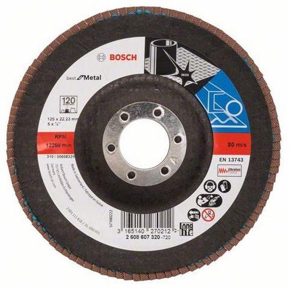 Круг шлифовальный Bosch 2608607320 125 мм