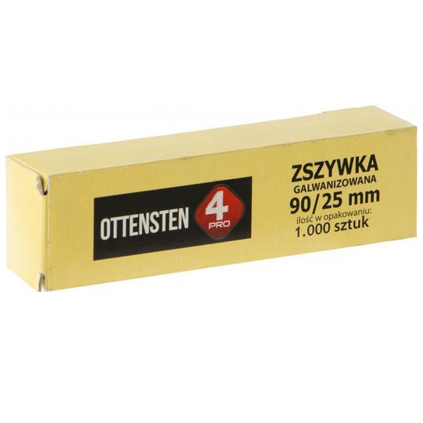 Скобы Ottensten 90/25 мм 1000 шт.