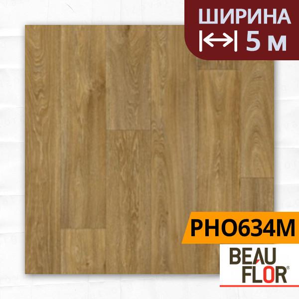 Линолеум ПВХ Beauflor Pietro Havanna Oak 634M, Ширина - 5 м; 2.25/0,25 - бытовой