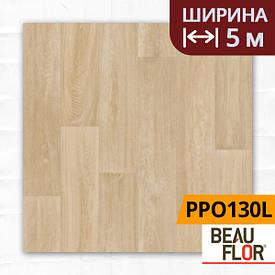 Лінолеум ПВХ Beauflor Pietro Pure Oak 130L, Ширина - 5 м; 2.25/0,25 - побутової