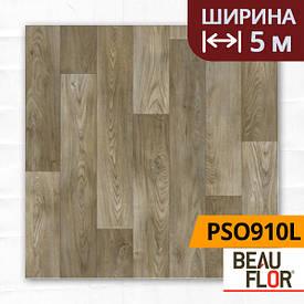 Лінолеум ПВХ Beauflor Pietro Sugar Oak 910L, Ширина - 5 м; 2.25/0,25 - побутової