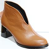 Ботинки женские кожаные от производителя модель КЛ2061-1, фото 5