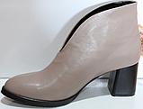 Ботинки женские кожаные от производителя модель КЛ2061-1, фото 3