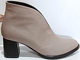 Ботинки женские кожаные от производителя модель КЛ2061-1, фото 2