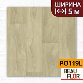 Лінолеум ПВХ Beauflor Pietro Oakland 119L, Ширина - 5 м; 2.25/0,25 - побутової