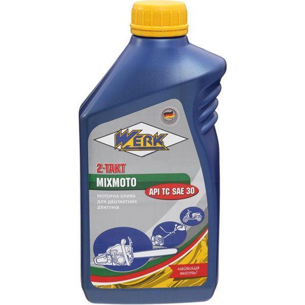 Моторное масло Werk 2-Takt Mixmoto API TC