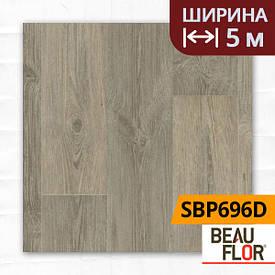 Лінолеум ПВХ Beauflor Supreme Barn Pine 696D, Ширина - 5 м; 2.9/0,4 - напівкомерційний на підкладці