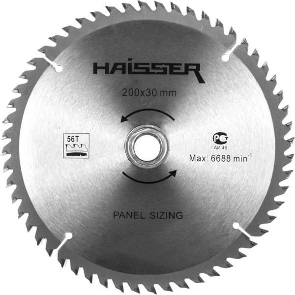 Диск пильный Haisser 200х30х2.4 56 зубцов по ламинату