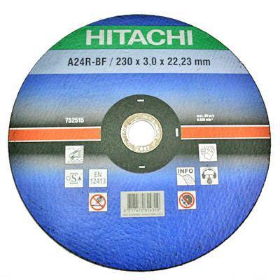 Круг отрезной Hitachi 230x22.2 мм