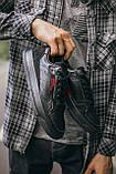 🔥 Кроссовки мужские спортивные повседневные Adidas Brand With The 3 Stripes (адидас бренд черные), фото 3