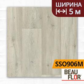 Лінолеум ПВХ Beauflor Supreme Silk Oak 906M, Ширина - 5 м; 2.9/0,4 - напівкомерційний на підкладці
