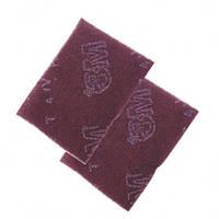 07447 Скотч-брайт красный ультратонкий лист шлифовальный 224х158 мм (Р240-320) 3М (США)
