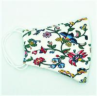 """Маска многоразовая женская, из ткани """"Цветы"""", защитные женские маски для взрослых многоразовые"""