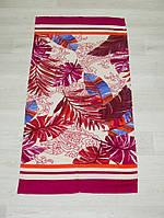 Полотенце пляжное Турция Beach-Red-Leaves 75*150 см