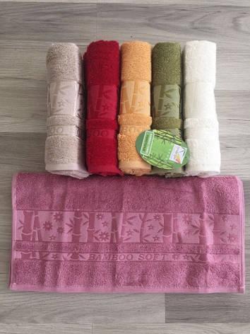 Набор полотенец для тела Cestepe Bamboo 70*140 см бамбуковые банные Soft Bright 6шт, фото 2