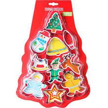Формы для печенья Рождественские 10 шт
