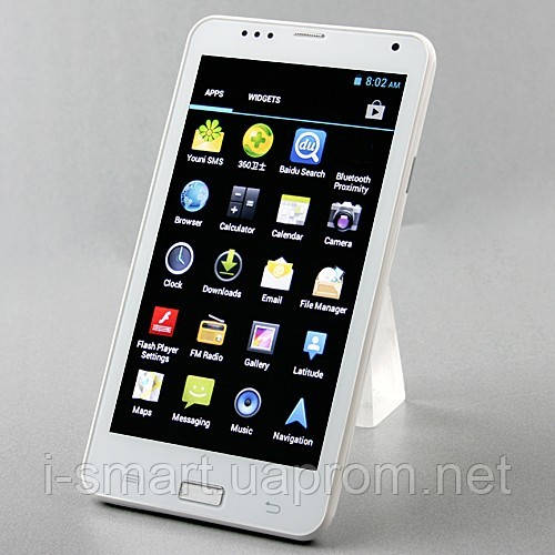 Smart Phone Android 4.0 MTK6577 Dual Core 3G GPS 5.98 Inch 8.0MP Camera