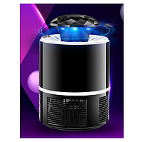 Лампа пастка для комарів 5 Вт USB Mosquito Killer Lamp чорна