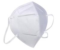 Противобактериальный респиратор FFP2 без клапана Белый (0012) [964-HBR]