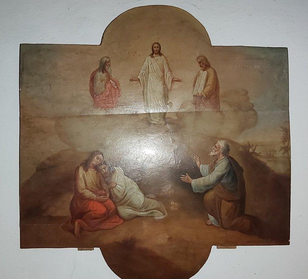 Икона Преображение Господне Россия 19 век