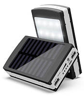 Power Bank Solar 30000Mah аккумулятор повер Банк с на солнечной батареей для телефона зарядка от солнца