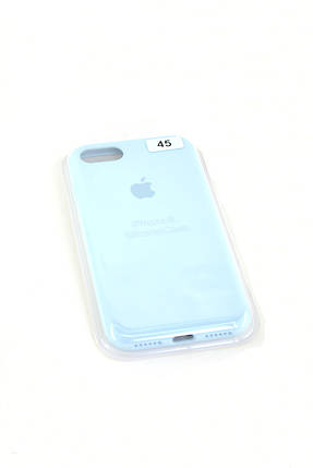 Чехол iPhone 11ProMax Silicon Case original FULL №45 sky blue, фото 2
