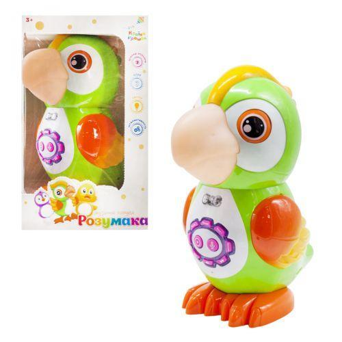 """Интерактивная игрушка """"Попугай"""" (укр) KI-7064 7Toys"""
