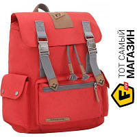 Красный рюкзак для мужчин, женщин полиэстер Kingcamp Yellowstone Dark red (KB3323) полиэстер
