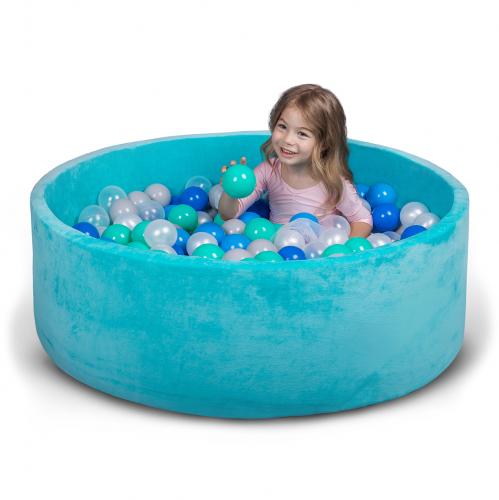 Бассейн для дома сухой, детский, мятный