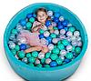 Бассейн для дома сухой, детский, мятный, фото 3