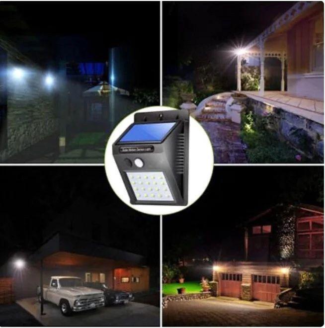 Уличный LED фонарь Solar Motion Sensor Light На солнечной батарее с датчиком движения 30 LED.