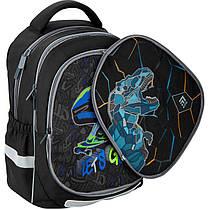 Рюкзак 700 Kite набор Education Dino and skate K20-700M 2p -3 пенал сумка, фото 2