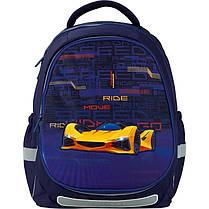 Рюкзак 700 Kite набор Education Fast cars K20-700M 2p -4 пенал сумка, фото 3