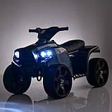Квадроцикл Bambi M 3893ELM-19 Черный, фото 5