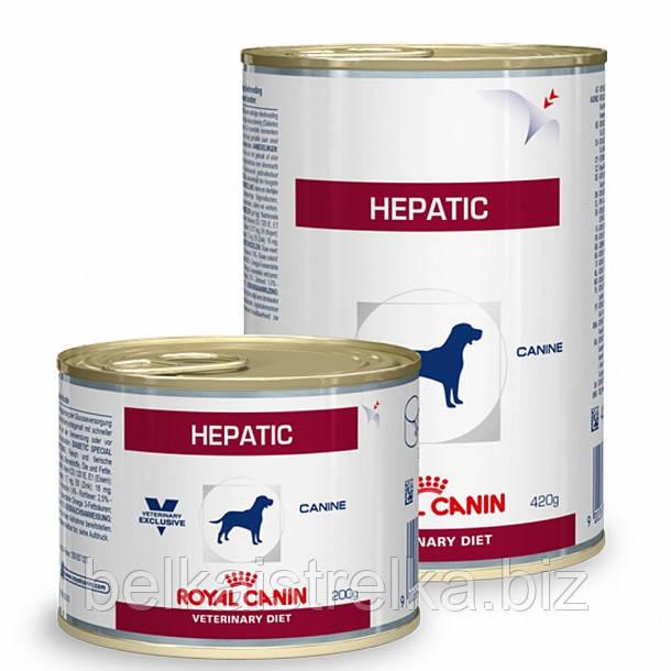 Консервы Royal Canin Hepatic, для собак с заболеваниями печени, 200г