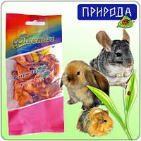 Десерт для грызунов Природа Фиеста Морковка, микс, 40 г