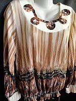 Женские блузы с круглым воротником. Арт. 22554, фото 1