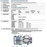 Бесшумный многоступенчатый насос Pedrollo 3CPm 80, фото 5