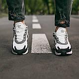 """🔥 Кроссовки мужские спортивные повседневные Nike Air Max 270 React """"Black White"""" (найк аир макс 270 серые), фото 7"""