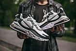 """🔥 Кроссовки мужские спортивные повседневные Nike Air Max 270 React """"Black White"""" (найк аир макс 270 серые), фото 8"""