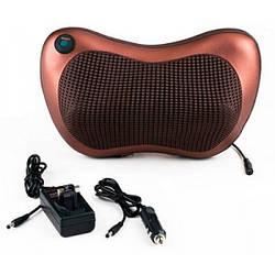 Масажна подушка в автомобіль Car&Home Massage pillow спини і шиї з інфрачервоним підігрівом (optb_007080)