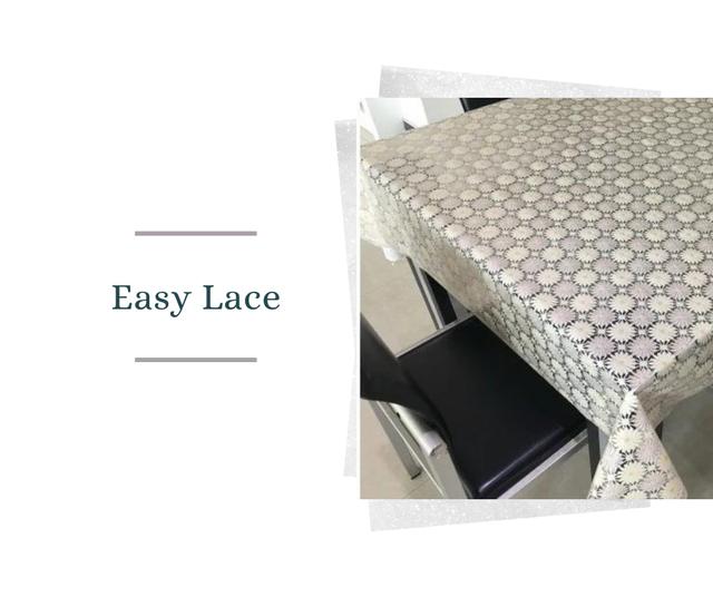 """Клейонка """"Easy Lace"""" ажурна (Тайвань) оригінал"""
