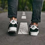 🔥 Кроссовки мужские спортивные повседневные Nike Air Force Luxury Suede (найк аир форс лакшери черные), фото 5
