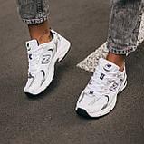 🔥 Кроссовки женские спортивные повседневные New Balance 530 (нью беланс белые), фото 3