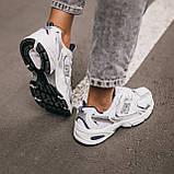 🔥 Кроссовки женские спортивные повседневные New Balance 530 (нью беланс белые), фото 9
