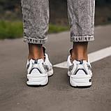 🔥 Кроссовки женские спортивные повседневные New Balance 530 (нью беланс белые), фото 4